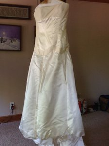 Saison Blanche Couture Silk Collection #4082 Wedding Dress