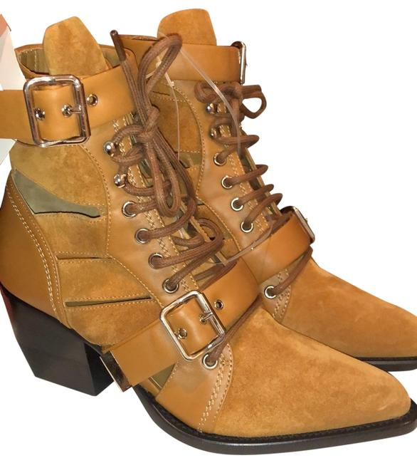 Item - Natural Brown Rylee Ankle Suede Boots/Booties Size EU 38.5 (Approx. US 8.5) Regular (M, B)