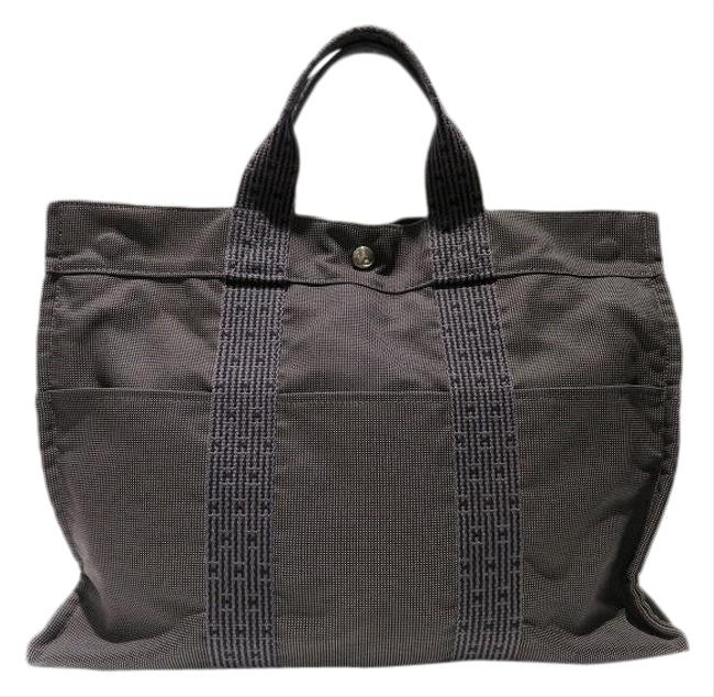 Item - Bag Aleline Mm Unisex Gray Canvas Tote