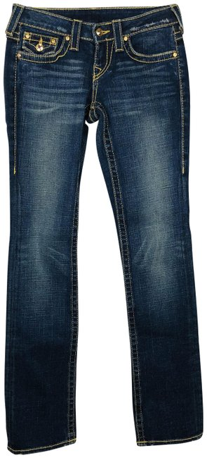 Item - Blue Disco Billy Big T Straight Leg Jeans Size 26 (2, XS)