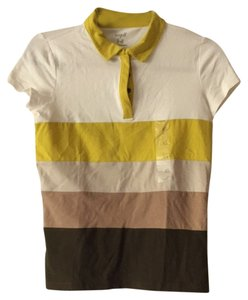 Liz Claiborne T Shirt Harvest Shades Of Browns