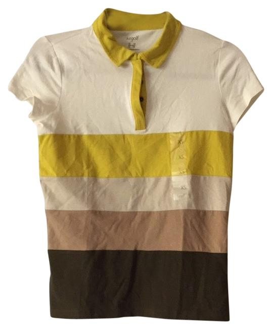 Preload https://item4.tradesy.com/images/liz-claiborne-harvest-shades-of-browns-golf-tee-shirt-size-2-xs-2828173-0-2.jpg?width=400&height=650