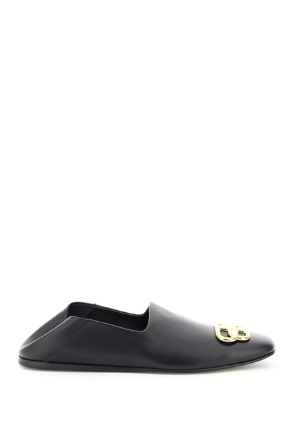 Item - Black Cr Loafers In Bb Cozy Leather Mules/Slides Size EU 37 (Approx. US 7) Regular (M, B)