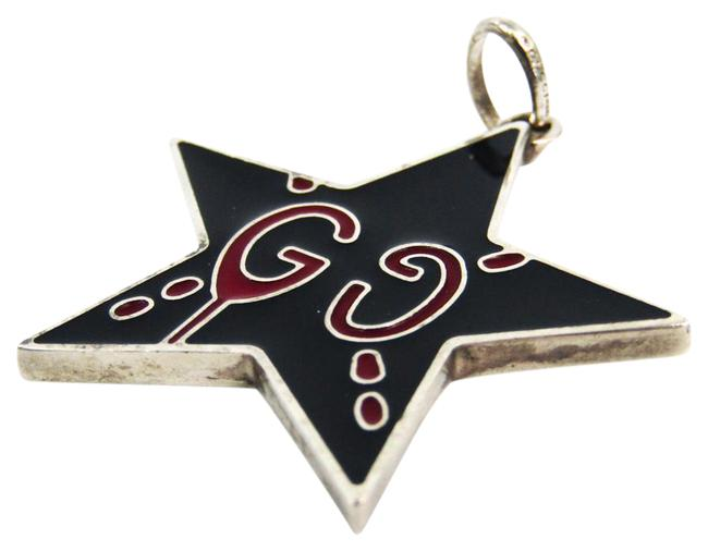 Item - Black / Red Color / Silver Ghost Star 925 Women's Pendant Necklace