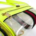 Gucci Marmont Gg 19 Cruise Offidia 517350 Women's Clear / Yellow Vinyl / Leather Shoulder Bag Gucci Marmont Gg 19 Cruise Offidia 517350 Women's Clear / Yellow Vinyl / Leather Shoulder Bag Image 4