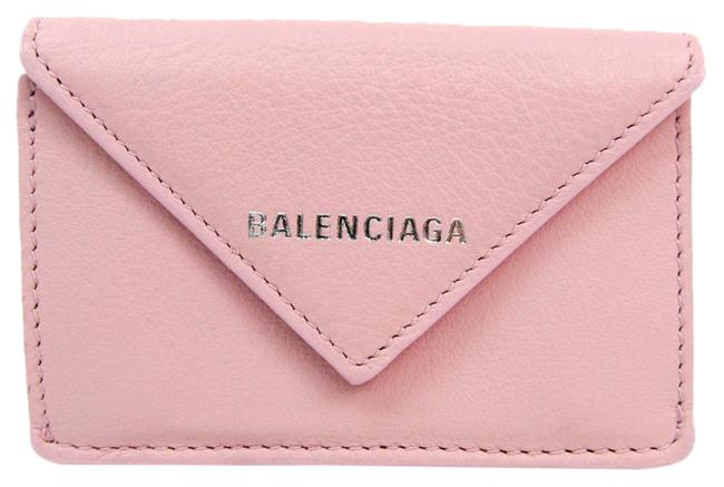 Item - Light Pink Paper Mini 391446 Women's Leather (Tri-fold) Wallet