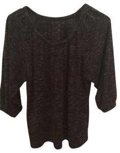 Ann Taylor LOFT Top Heather Gray