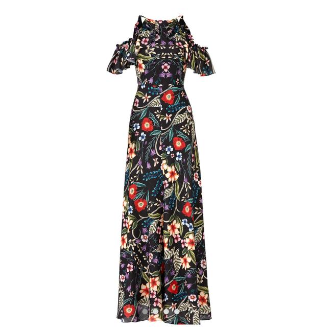 Item - Black/Red Street • Gardenia Vintage Gown Long Casual Maxi Dress Size 6 (S)