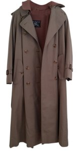 Burberry Vintage Lined 8 Long Military Jacket
