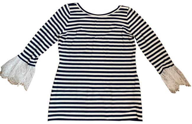 Item - Stripped with La E Sleeve Tunic Size 4 (S)