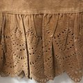 Anthropologie Tan Suede Leather Lined New Skirt Size 12 (L, 32, 33) Anthropologie Tan Suede Leather Lined New Skirt Size 12 (L, 32, 33) Image 5