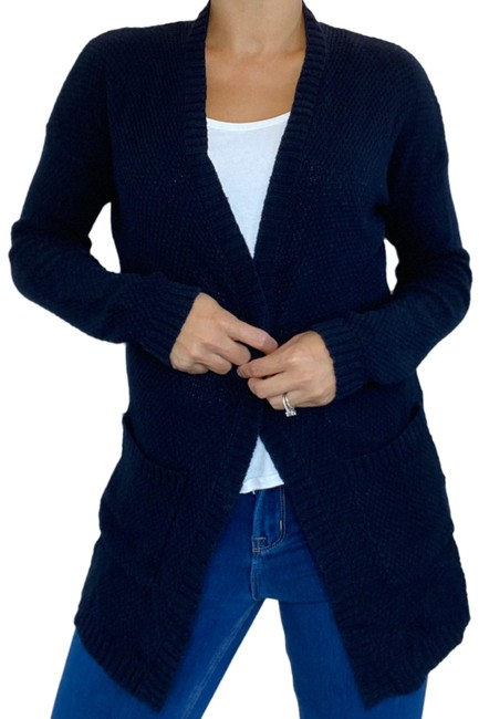 Item - Navy Blue Cardigan Size 8 (M)