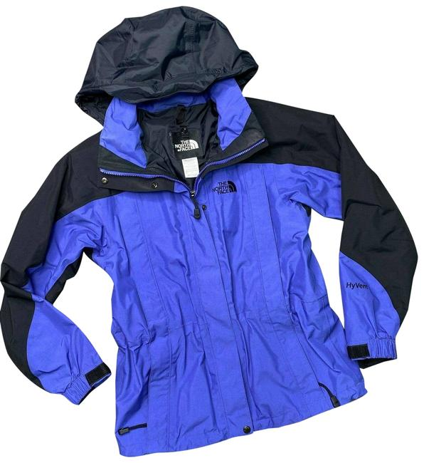 Item - Blue and Black Womens Hyvent Shell Jacket S Coat Size 4 (S)