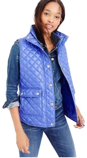 Item - Purple Shiny Quilted Puffer Small Vest Size 4 (S)