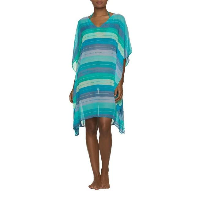 Item - Teal Beach Poncho In Jade Coast Cover-up/Sarong Size 10 (M)