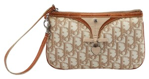 Christian Dior Trotter Romantique Wristlet in Beige