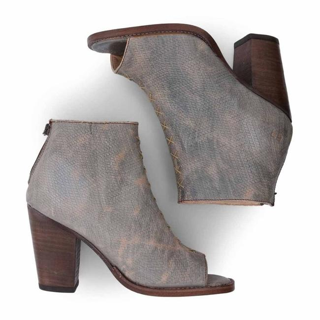Item - Gray Onset Peep Toe Booties In Taupe Luxe Flats Size US 9 Regular (M, B)