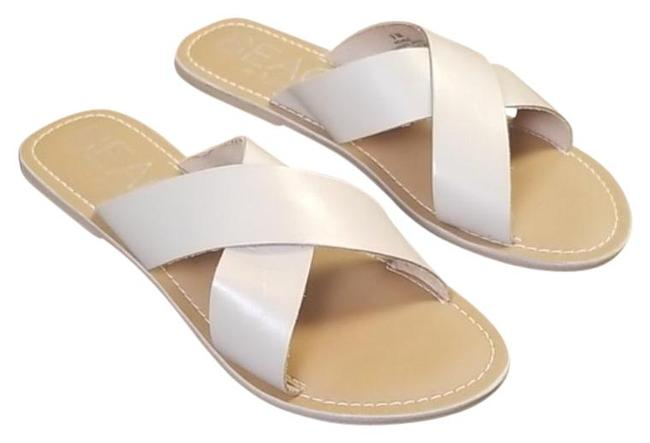 Item - Cream Coconuts By Pebble Sandal Flats Size US 9 Regular (M, B)