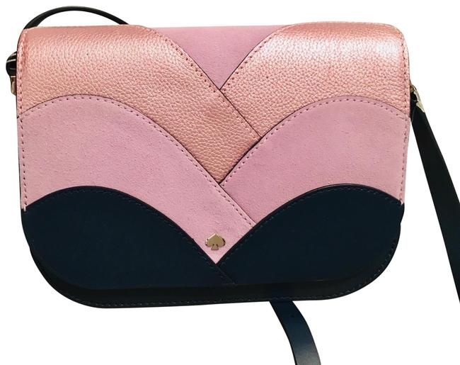 Item - Body 50% Off. with Free Gift Blue/ Pink Leather Shoulder Bag