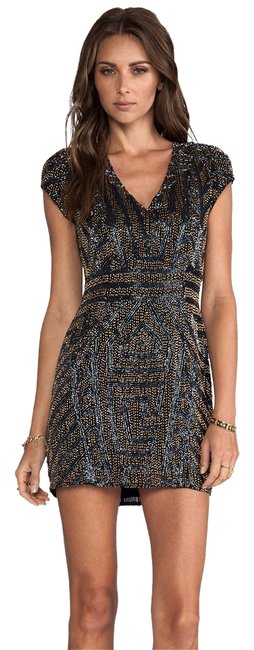 Preload https://item3.tradesy.com/images/multicolor-serena-beaded-above-knee-night-out-dress-size-0-xs-2828797-0-0.jpg?width=400&height=650