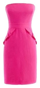 J.Crew Hot Pink Hot Pink Cocktail Dress