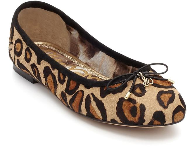 Item - New Tan Leopard Cow Hair Felicia Flats Size US 7.5 Wide (C, D)