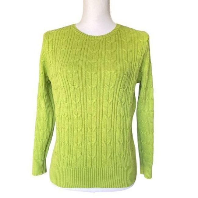 Item - Cable Knit Green Sweater