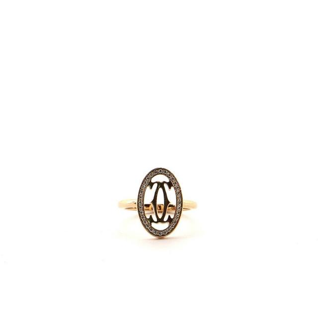 Item - Rose Gold Double C 18k with Diamonds 3.75 - 46 Ring