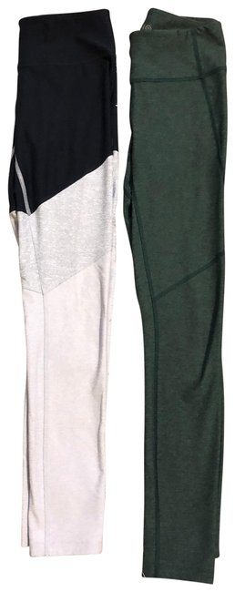 Item - Navy Grey Green Tricolor Light and Solid Activewear Bottoms Size 0 (XS)