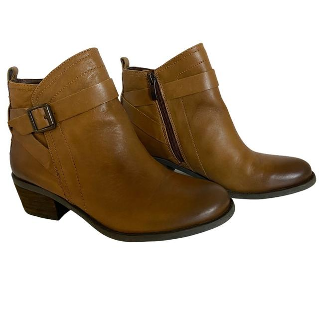 Item - Brown Leather Vp-beamer Ankle Boots/Booties Size US 8 Regular (M, B)