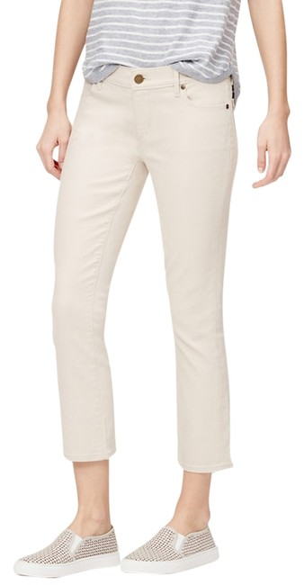 Item - Almond Cream Modern Kick Cropped Jeans Capris Size 8 (M, 29, 30)