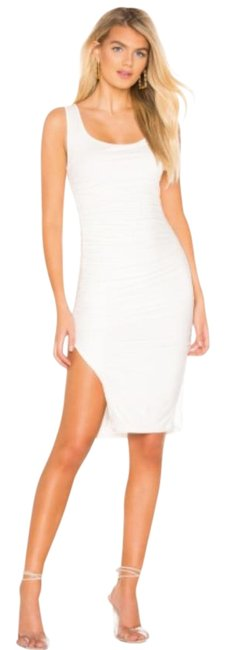Item - White Maria Mid-length Cocktail Dress Size 4 (S)