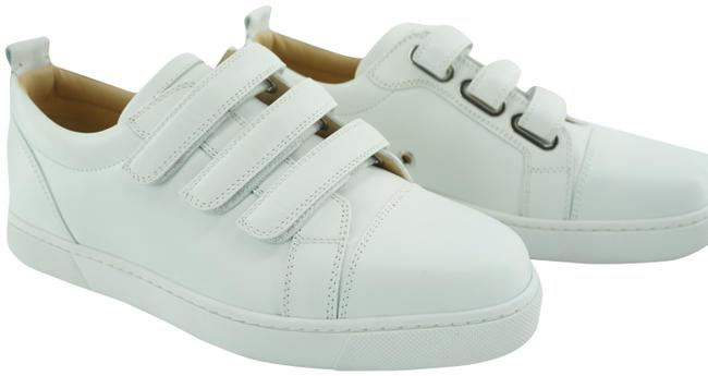 Item - White Kiddo Donna Three Strap Leather Low Top Sneakers Size EU 37.5 (Approx. US 7.5) Regular (M, B)