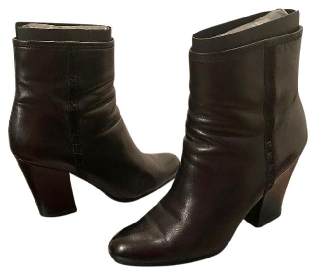 Item - Black Nappa 1 Boots/Booties Size EU 38 (Approx. US 8) Wide (C, D)