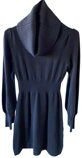 Item - Black None Short Casual Dress Size 6 (S)
