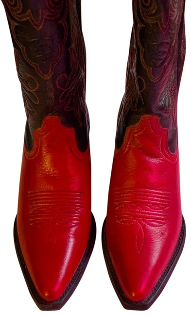 Item - Red Heritage Western Boots/Booties Size US 6.5 Regular (M, B)