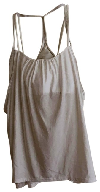Item - White Flow Y Swing Activewear Top Size 6 (S)
