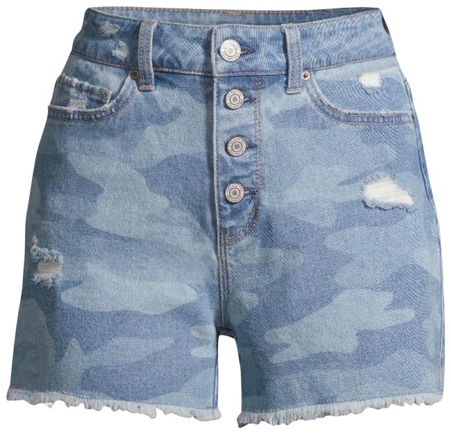 Item - Blue High Waisted Shorts Size 10 (M, 31)