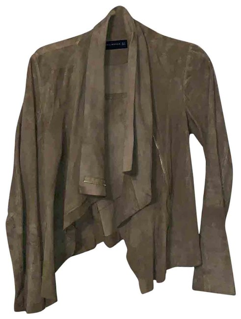 Item - Camel Suede Woman Jacket Size 4 (S)