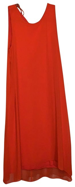 Item - Fiery Red Marrakech Mid-length Cocktail Dress Size 2 (XS)