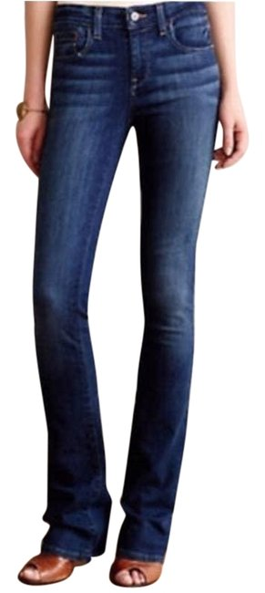 Item - Pilcro and The Letterpress Blue Mid Rise Anthropologie Boot Cut Jeans Size 28 (4, S)