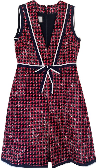 Item - Blue/ Red/ White Blue/Red/Blue Mid-length Formal Dress Size 8 (M)