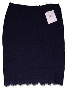 DVF Skirt Navy