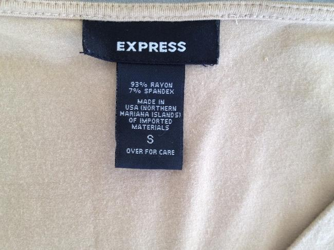 Express Top Khaki Color