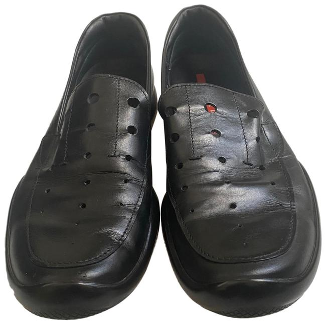 Item - Black Men Loafers Flats Size US 8 Regular (M, B)