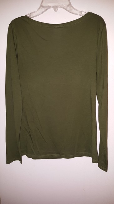 lucy T Shirt Olive Green