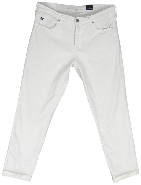 Item - White Prima Roll Up Skinny Jeans Size 30 (6, M)