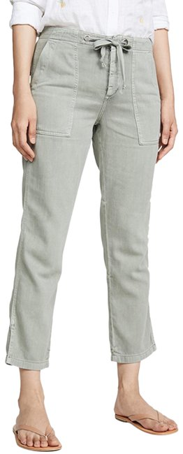 Item - Sage Green Light Wash The Ankle Pant Relaxed Fit Jeans Size 8 (M, 29, 30)