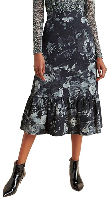 Item - Black New Edita Flounced By Tracy Reese Skirt Size 2 (XS, 26)