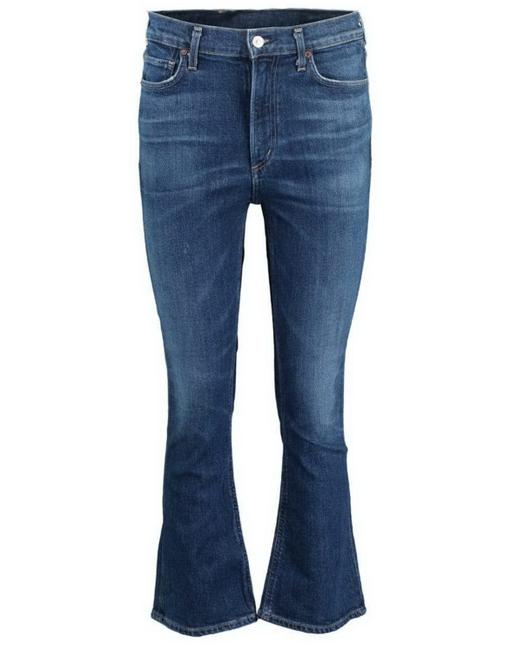 Item - Clearwater Medium Wash Demy Flare Capri/Cropped Jeans Size 25 (2, XS)